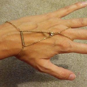 Rebecca minkoff safari haze crystal bracelet